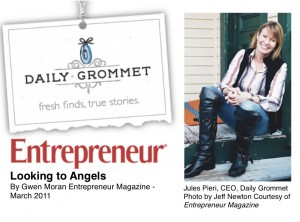 Jules Pieri of Daily Grommet as Featured In Entrepreneur Magazine